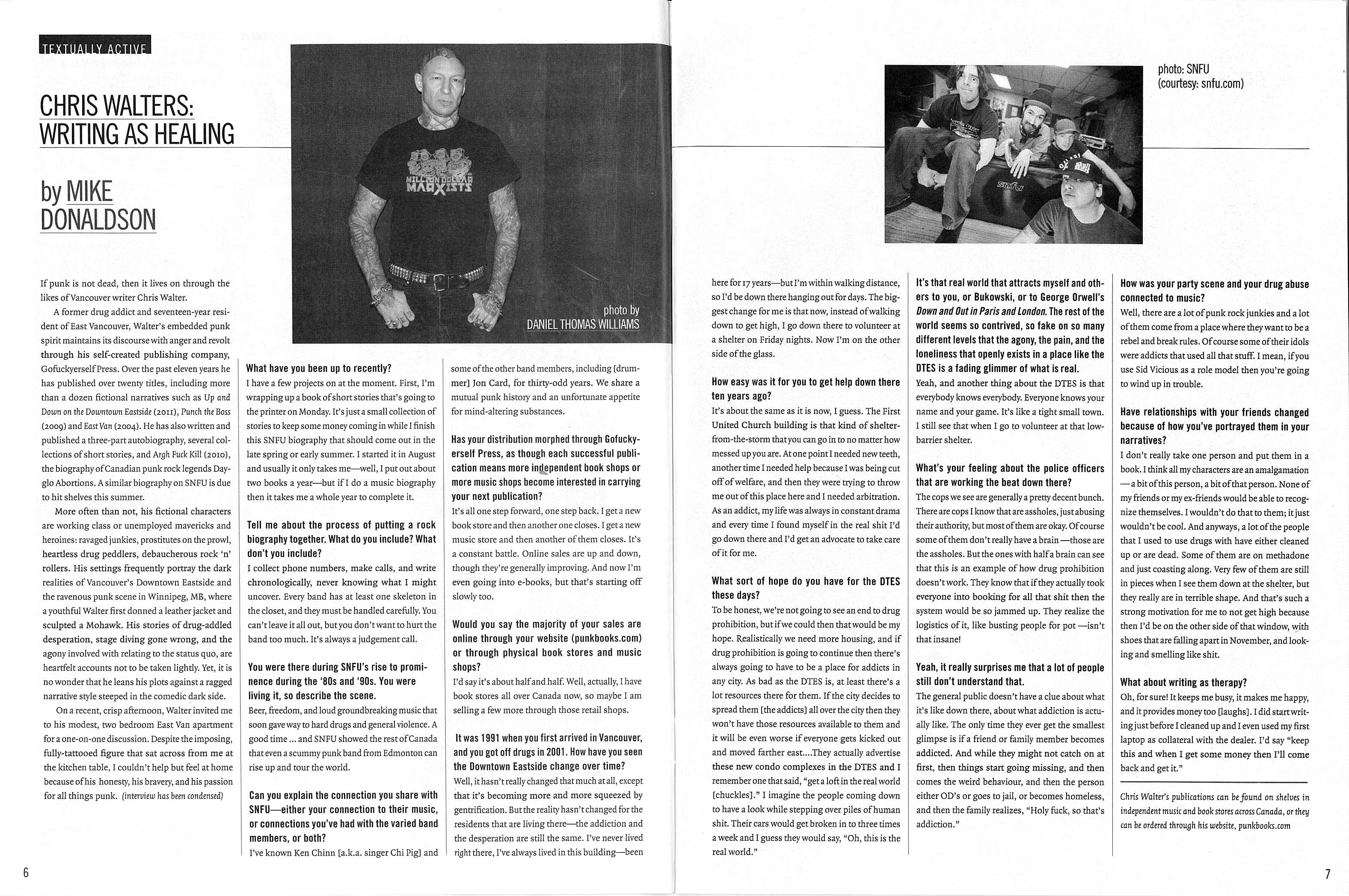 Discorder Chris Walter Interview - Feb 2012